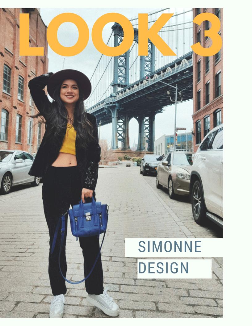 Blue Summer Fashion Magazine Cover